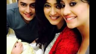 TV Actress Shweta Tiwari With Her Little Baby Reyansh hd image