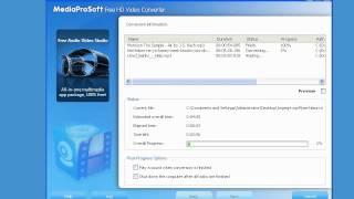 How it works: MediaProSoft Free HD Video Converter