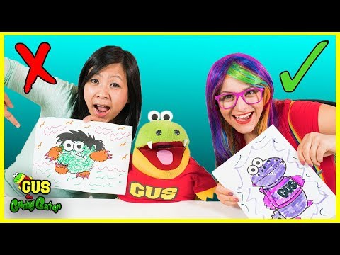 3 Marker Challenge Coloring with Ryan s Mommy and Rainbow Rae