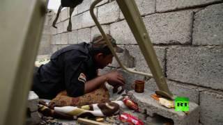 مشاهد للمعارك في حي التنك غرب الموصل