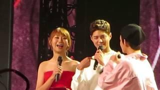 170804 Ment (Park Bo Gum and V) (Music Bank)