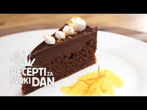 Čokoladna torta video recept