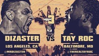 TAY ROC VS DIZASTER SMACK/ URL RAP BATTLE | URLTV