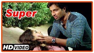 Super Tamil Movie | Scenes | Anushka found dead | Sonu Sood blames Nagarjuna