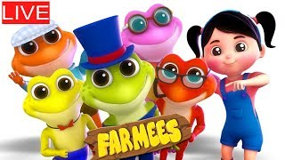 🔴 Kids Rhymes And Videos For Children by Farmees