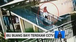 Ibu Buang Bayi Terekam CCTV