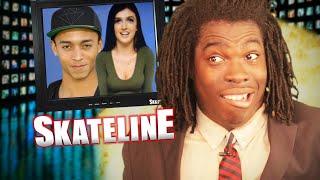 SKATELINE - Nyjah Huston, Dime Glory Challenge, Carlos Ribeiro, Addie Fridy