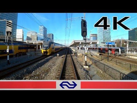 4K CABVIEW HOLLAND Almere Oostvaarders Hoofddorp Opstel SLT 26feb 2019