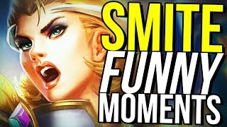 CAPTURE THE FLAG THE ANIME! - SMITE FUNNY MOMENTS
