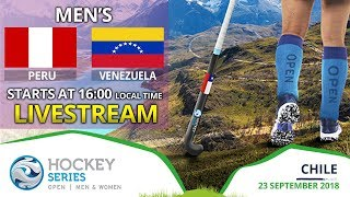 Peru v Venezuela | 2018 Men's Hockey Series Open | FULL MATCH LIVESTREAM