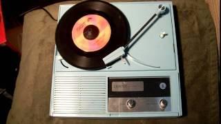 Zenith Vintage Portable Record Player Demo