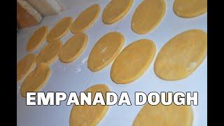 How to make empanada dough