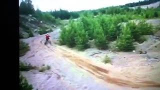 KX250 Freestyle Ramp Jumps (HD)