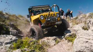 Epic Jeep Off-Roading