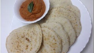 Vellayappam Traditional Kerala Breakfast Dish വെള്ളയപ്പം