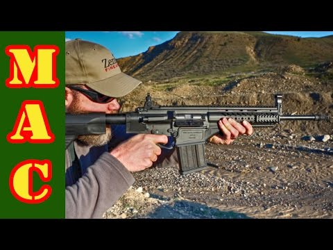 Shooting the Turkish MPT-76 Infantry Rifle