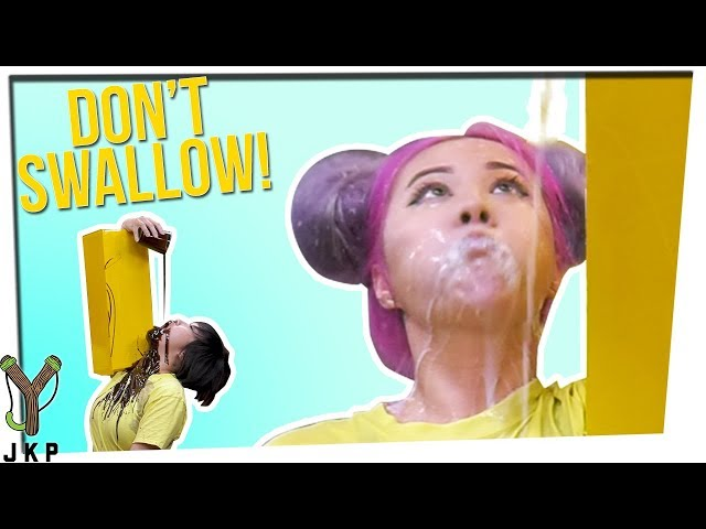 Stiff Arm Challenge | Don't Swallow It! ft. Timothy DeLaGhetto & Gina Darling