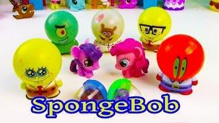 MLP Pinkie Pie Twilight Sparkle Bubblehead Spongebob Squarepants Toy Review My Little Pony Fashems