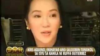 Kris Aquino Speaks About Her Issue With Ruffa G.