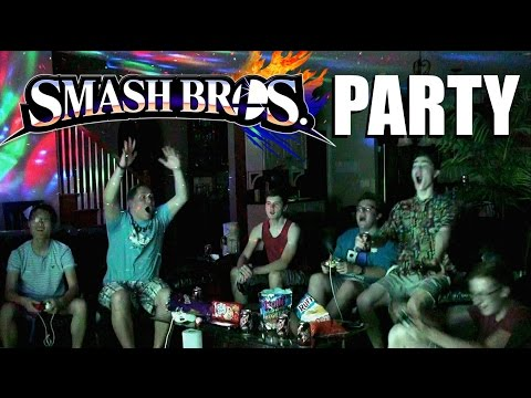 HOW TO THROW A SMASH PARTY