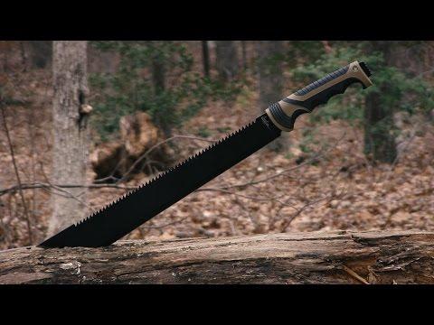 Weekend Special: Javelin by Timberline Sawback Machete