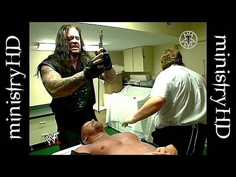اندرتيكر يعتدي على ستيف اوستن و حاول قتله لكن كين منعه داخل غرفت العمليات 1998 HD