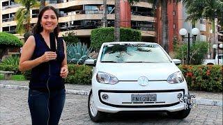 Test Drive Novo VW Up White 2015