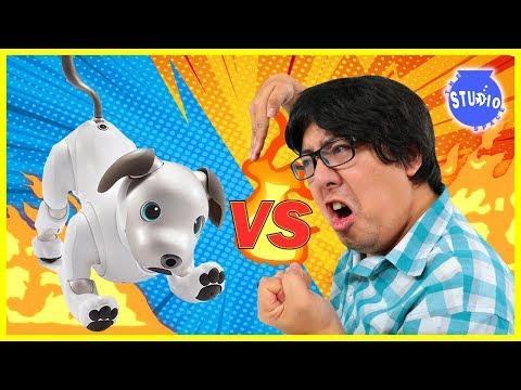 Xxx Mp4 ROBO DOG AIBO VS RYAN S DADDY Who Is The Better Robot Dog 3gp Sex