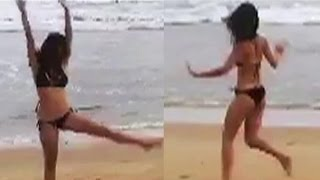 Disha Patani HOT Bikini Video On Beach Goes Viral