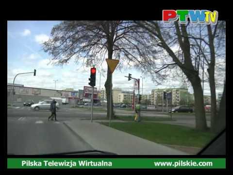 Piła. Zapraszamy do Piły Wirtualny spacer ulicami miasta. Poland