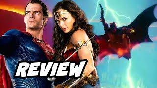 Justice League Review NO SPOILERS - Batman, Superman, Wonder Woman and The Flash