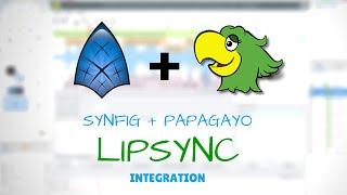 Synfig + Papagayo: Lipsync Tutorial