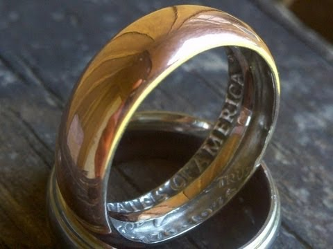 crea un anillo a partir de una moneda