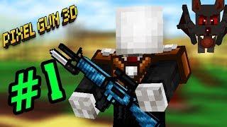 Pixel Gun #1 - Slenderman Tham Chiến Đấu Trường Sinh Tử - Minecraft Bắn Súng