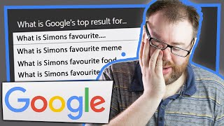 IS THIS FOR REAL? - Google Search Game (Tuesdays with Simon)
