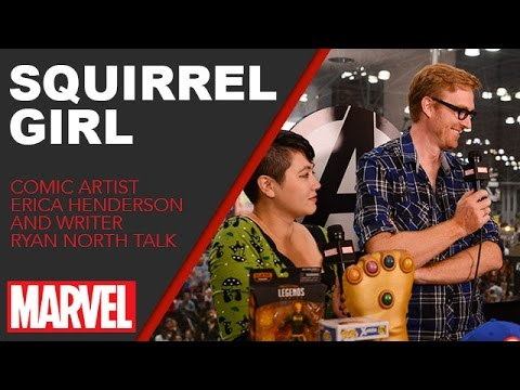 The Unbeatable Squirrel Girl's Ryan North & Erica Henderson
