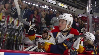 Gotta See It: Erie goalie chucks his stick in disgust at the camera