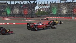 F1 2016 Online: CAN WE HAVE A CLEAN RACE?