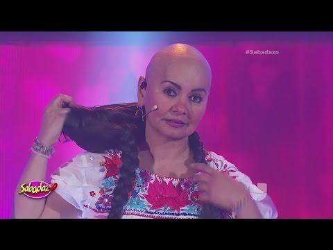 La comediante Bettina Salazar Olga Sana reveló que lucha contra el cáncer