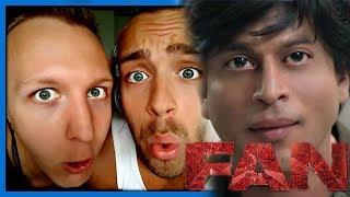 Fan | Official Trailer | Shah Rukh Khan | Trailer Reaction Video by Robin and Jesper