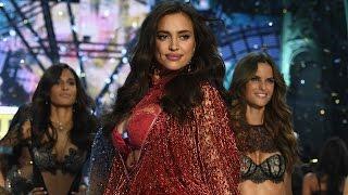 Irina Shayk Walks 2016 Victoria's Secret Fashion Show Runway PREGNANT