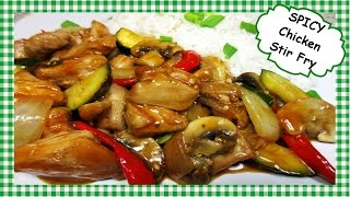 Chinese Spicy HOT Chicken Stir Fry ~ How to Make Your SPICY HOT!