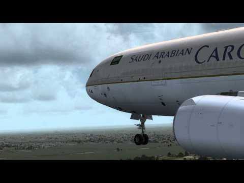 FSX Saudi Arabian Airlines!!! [HD]