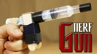 How To Make The Simplest Nerf Pistol That Shoots Bullets