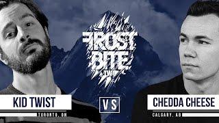 KOTD - Rap Battle - Kid Twist vs Chedda Cheese | #FB2