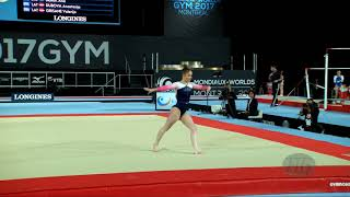 KINSELLA Alice (GBR) - 2017 Artistic Worlds, Montréal (CAN) - Qualifications Floor Exercise