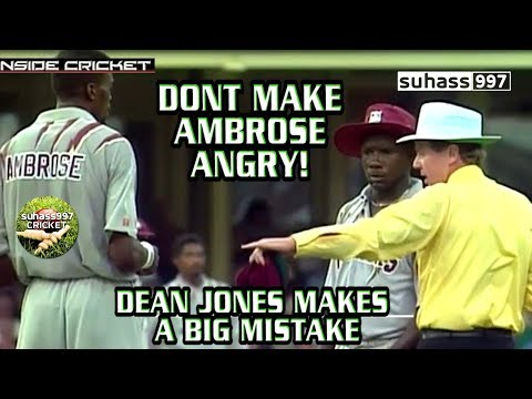 Dont make AMBROSE angry WORLD SERIES FINAL Dean jones makes a big mistake