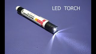 How to make a LED Torch/Flashlight at Home