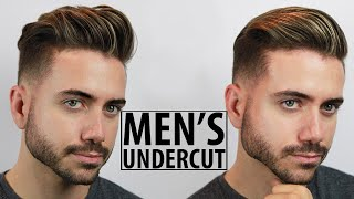 Disconnected Undercut - Haircut and Style Tutorial | 2 Easy Undercut Hairstyles for Men | Alex Costa