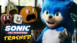 Annoying Orange - Sonic the Hedgehog Trailer TRASHED!